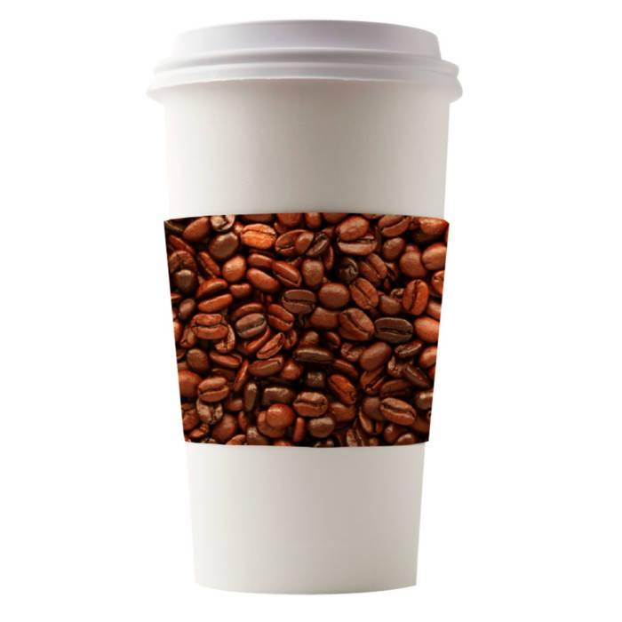 Café Canvas Sleeves Coffee Beans
