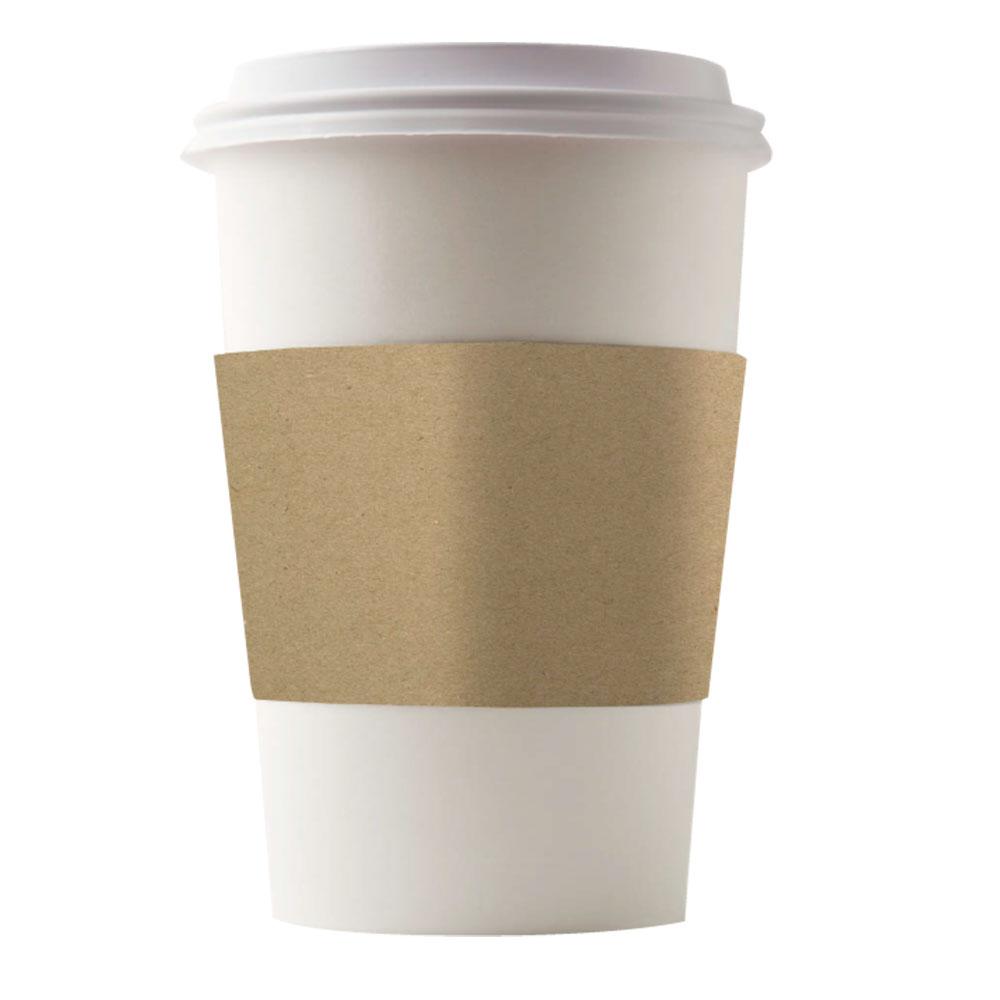 Generic Java Sleeves Brown Kraft 8 oz.