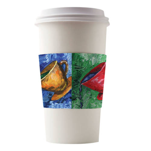 Café Canvas Sleeves Kami Cups