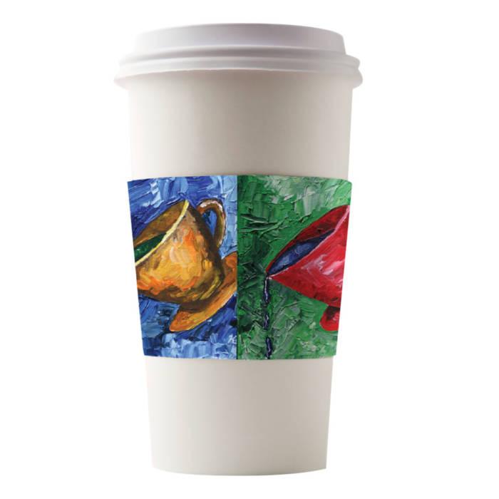Café Canvas Sleeves Kami Cups