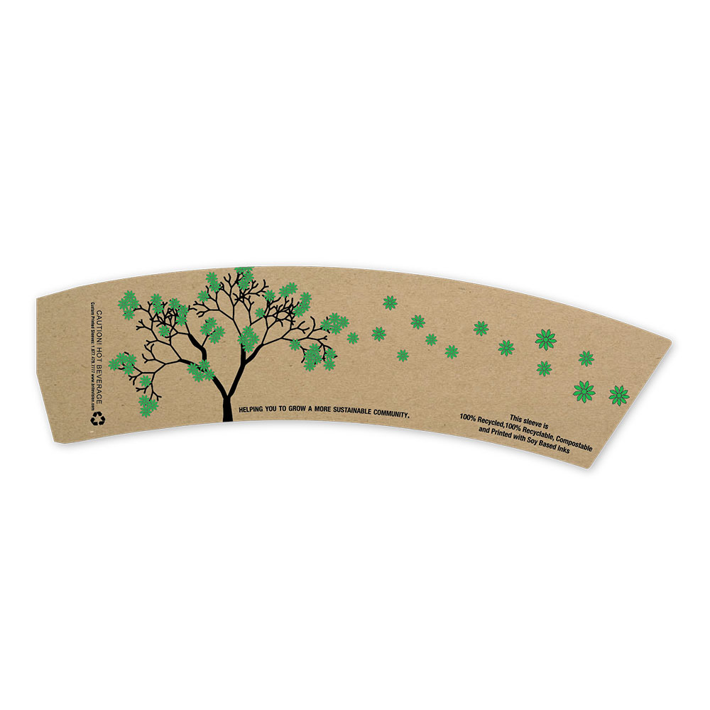 Earth Friends Sleeves Eco Tree