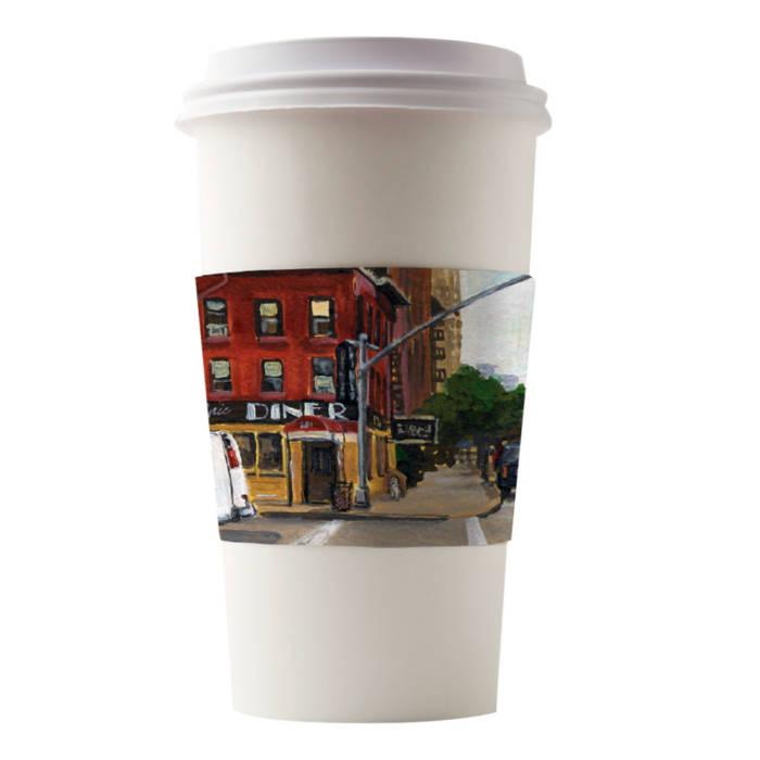 Café Canvas Sleeves Lyric Diner