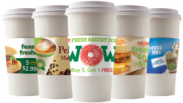 Cup sleeve solutions for C-Stores