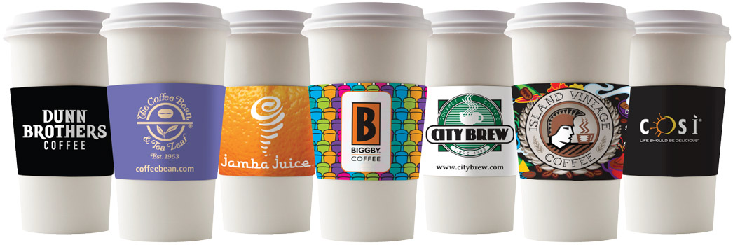 Cup sleeve solutions for Large Chains