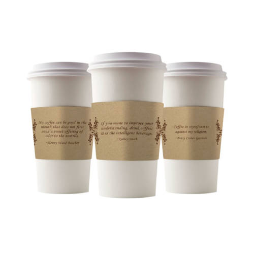 Earth Friends Sleeves Coffee Quotes