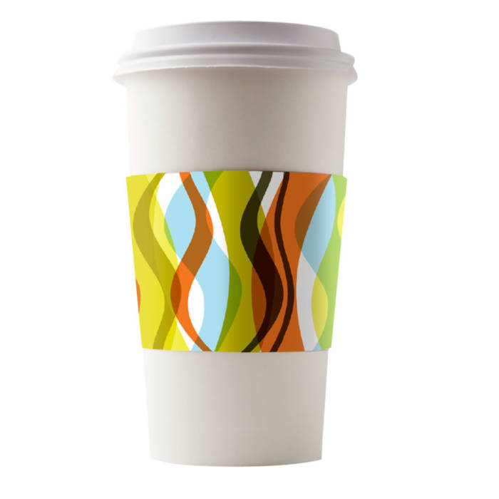 Café Canvas Sleeves Infusion